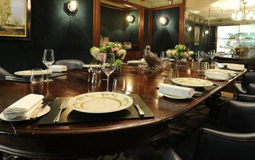 Il Corrigan's Mayfair dello chef Richard Corrigan, al 28 Upper Grosvenor Street a Londra