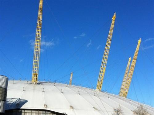 L'o2 Arena, ricordato anche come il Millenium Dome di Londra