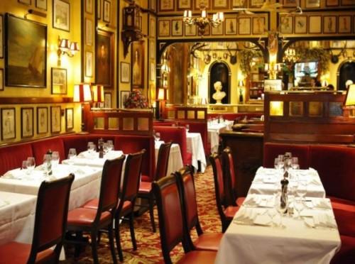 Rules Restaurant, Covent Garden, 35 Maiden Lane, Londra, UK.