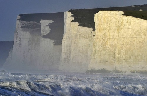 Le Seven Sisters in East Sussex, UK