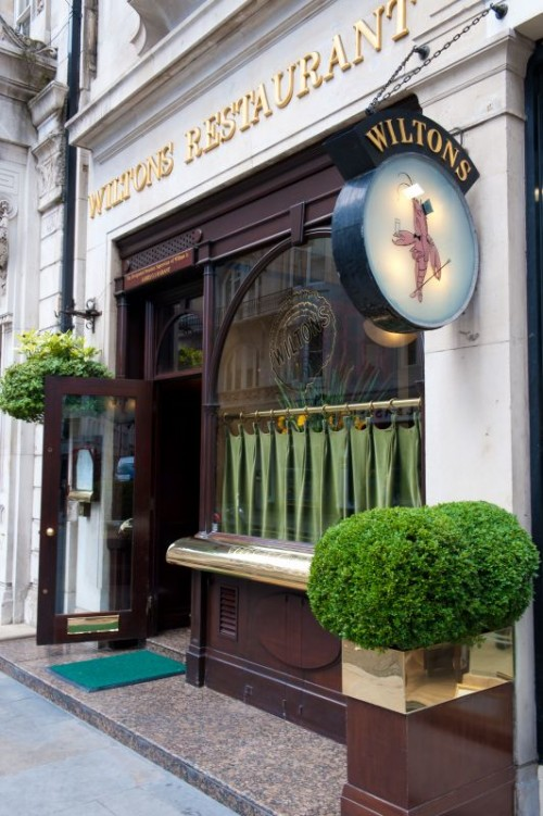 Wiltons Restaurant and Oyster Bar, 55 Jermyn Street, Londra