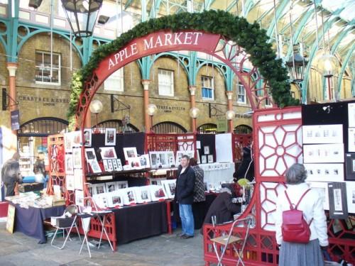 L'Apple market, a Covent Garden, Londra