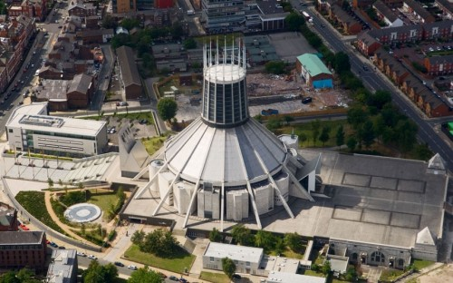 La Cattedrale metropolitana di Cristo Re a Liverpool