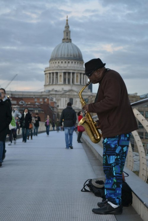 Il Millennium Bridge di Londra, UK