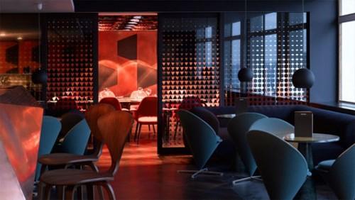 Il Paramount Bar, Centre Point Oxford Street, Londra